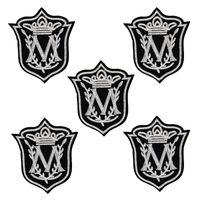 Patch de estilo de crachá personalizado para vestuário ferro bordado patches applique ferro em patches acessórios de costura para roupas 10 pçs / lote