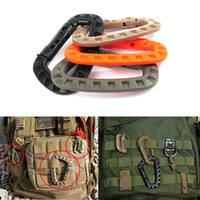 ITW Medium Tactical Outdoor Carabiner Hook Backpack Molle System D Buckle Military Outdoor Bag Camping Climbing Accessories