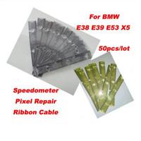 Pixel Tools per BMW Pixel Repair Tool per BMW E38 E39 E53 Cluster Repair Cluster Cavo a nastro per BMW Flat Cable 50 pz / lotto