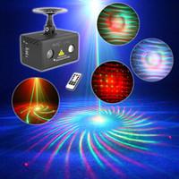 Mini 20 RG Rot Grün Muster Projektor Bühnentechnik Licht 3W RGB LED Mischen Aurora Effekt DJ KTV Show Urlaub Laserbeleuchtung LL-20RG