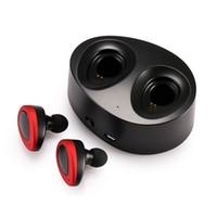 TWS K2 True Wireless Bluetooth Earphones Stereo 헤드셋 Dual Twins Earpieces Bass Mic Double Earbuds 헤드폰 s Charging 상자