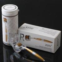 ZGTS 192 Alliage de titane Micro-aiguille Mesoroller Mesoroller Aiguilles Système de thérapie à rouleaux Derma pour la cicatrice d'acné