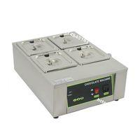 Ücretsiz Kargo Ağır 110 v 220 v Elektrikli 8 kg Çikolata Çeşmesi 4 Erime Pot Dijital Choco Eritici Isıtıcı Kazanı Temperleme Makinesi