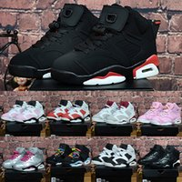 Children' s Basketball Shoes Retro 6 Space Jam Retros Sn...