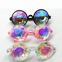kaleidoscope glasses 3 colors Men Women Celebrity Party Desi...