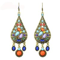 Feelshine Ethnic Style Vintage Bronze Color with Bohemian Co...