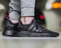 (With box) NMD Runner R1 Again Triple black White red pk 3M ...