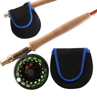 Fly Fishing Reel Cover One- layer Pouch Plush Tuff Soft Foam ...