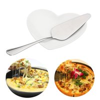 1PC Triangle Pizza Pie Spade Stainless Steel Handle Cake Sho...