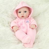 28 cm Reborn Baby Girl Simulación Realista Suave Vinilo de Silicona Suave Bebé Recién Nacido Muñecas Niño Niños Cumpleaños Regalo de Juguete
