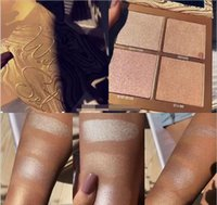 Kylie Jenner The Wet Set 4 color Bronzer & Highlighters Pres...
