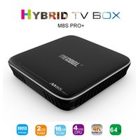 MECOOL M8S PRO + Android 7.1 Amlogic S905X Smart TV Box Octa core 2GB / 16GB WIFI 4Kx2K 60fps Streaming VP9 H.265 HDR10 OTA 1G 8G Media Player