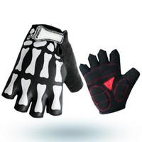 Neue Art-Mountainbike-kurze Finger-Handschuhe Sommer-Fahrrad-Halbfinger-Handschuhe Berufsaußensport-Halbfinger-Reithandschuhe