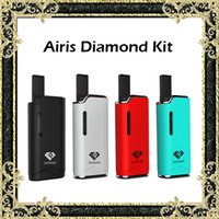 Original Airis Diamond V11 Kit E Cigarrillo Vape Mod Kits 280mAh Batería automática G2 Atomizador de aceite grueso 4 colores disponibles