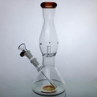 10 polegada de espessura de vidro Bong Dab Rig da tubulação de água Bongos Pipes altos Big Hookah Oil Rigs Heady Bubbler para Dry Herb 14 milímetros bacia