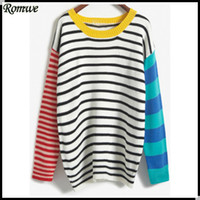 Wholesale- ROMWE Women New Arrival Winter Clothes Pullover Ro...