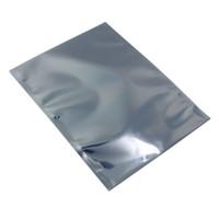12 * 16 см антистатические HDD экранирование линии передачи данных Поли пакет сумки с открытым верхом Электроника антистатические ESD Поли мешок 50 шт./ лот
