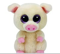 Ty Beanie Boos Stuffed Animals & Plush Pig Toys Big Eye Kawa...