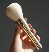 Sehr große Schönheitspuderpinsel erröten Grundlage bilden Werkzeug-großes Kosmetik-Aluminiumbürsten-weiches Gesichts-Make-up