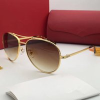 00131 Sunglasses Oval Frame Metal Popular UV Protection ESW0...