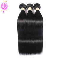 Brazilian Virgin Hair 3 Bundles straight Brazilian Straight ...