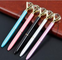 Crystal Ball Pens Ballpen Fashion Girl 19 Carat Large Diamon...