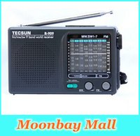 Wholesale- High quality Tecsun R- 909 FM   MW   SW 9 Band Word...