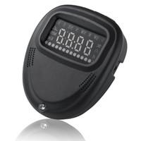 Dünya Çapında Evrensel HUD 2.0 inç A1 GPS Araba Head Up Display Speedometers Dashboard Sürüş Süresi Kilometre Cam Projektör
