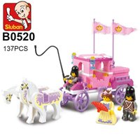 Sluban Building Blocks 137Pcs Girl Dream Princess Royal Carr...