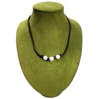 Perle Anhänger Halskette Europa und die Vereinigten Staaten Schmuck Retro-Mode-Statement lange Pullover Kette Halskette Frauen