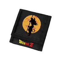 Boys Children Gifts Wallets Dragon Ball Wallet Short Black P...