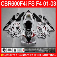 8Gifts 23Colors For HONDA CBR 600 F4i 01- 03 CBR600FS FS 28HM...