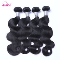 Malaysian Virgin Hair Weave Bundles Body Wave 3 4Pcs Lot Unp...
