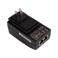 SPC1 48 VDC 0.5A POE Carregador Injector Power over Ethernet Adaptador Com Plugue De Parede para CCTV IP Telefone IP Câmera de Segurança