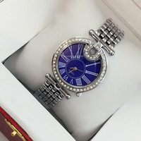 Fashion brand golden watch with diamond women sexy rose gold...
