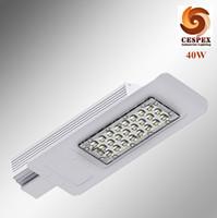 desenho IP67 alumínio fundido 40W LED postes AC110V 220V 50 / 60Hz 40W diodo emissor de luz de rua ultra-fina