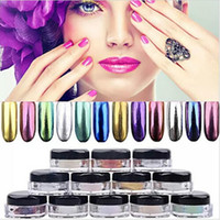 New Fashion Shinning Mirror Chrome Effect Gorgeous Nail Art ...