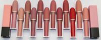 Ücretsiz kargo! 2017 Yeni Marka Makyaj Cilası Lipgloss / Rouge / Ruj 4.5G 12 Farklı Renk (12 adet / grup)