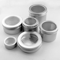 25 ml 60 ml 100 ml Alüminyum Kozmetik Krem Kavanoz Pencere Kapağı, 150 ML Metal Kavanozlar, 180 ML Alüminyum Kutu, Ambalaj Teneke Konteyner F20171109