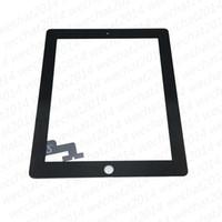 Tela Touch Panel Vidro com digitador para iPad 2 3 4 preto e branco DHL Shipping
