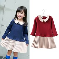 Everweekend Girls Ruffles Patchwork Dress Candy Color Prince...