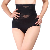 Wholesale- Women High Waist Corset Panties Breathable Underw...