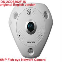 Hik 6MP Fisheye IP Camera DS- 2CD6362F- IS 360degree panoramic...