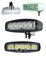 15W LED Offroad Work Light Lamp Flood Spot Beall 12V 24V ATV Båt Traktor IP67 Epsitar LED-lampor körning Ljusstång