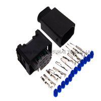 AMP 6 Pin / yol malefemale otomatik kısıtlayıcı sensörü fişi, Gaz kelebeği konum sensörü konnektörü, BMW için otomatik su geçirmez elektrik fişi