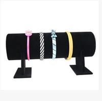 Gros-1pc / lot Hot nouveau tissu cheveux bijoux bandeau affichage bande de cheveux porte-bijoux stand Hairband Show Shelf Grande Taille 50 * 18 * 11 cm