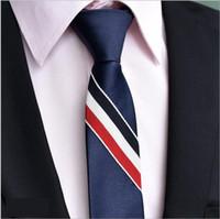 الرجال النسخة الكورية من أزياء حزام ربط سفر الأعمال شريك جيد منتجات ساخنة جديدة الرقبة العلاقات