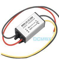 DCMWX® buck conversores de voltagem 24 V transformar para 19 V step down inversores de potência do carro de Entrada DC22V-40V Saída 19V 1A2A à prova d 'água