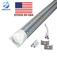 US STOCK V- Shaped T8 Led Tube Lights 4FT 28W Integrated Cool...