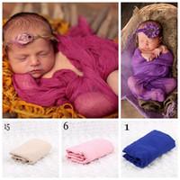 الوليد قماط الرضع يلتف الطفل البطانيات طفل التقميط الاطفال الفراش صور الدعامة Parisarc الاستحمام المناشف 300 قطع OOA2755